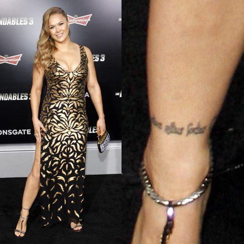 Ronda Rousey Tattoo