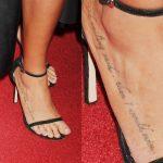 Serinda Swan Tattoos
