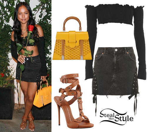Karrueche Tran Clothes \u0026 Outfits