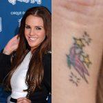 Danielle Lloyd Tattoos