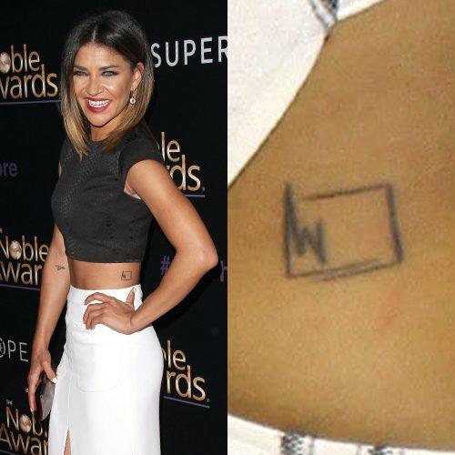 Square Tattoo: Jessica Szohr's 13 Tattoos & Meanings