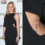 Katee Sackhoff Tattoos