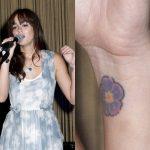 Leighton Meester Tattoos