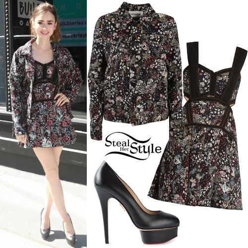 Lily Collins Clothes Amp Outfits Steal Her Style