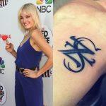 Malin Akerman Tattoos
