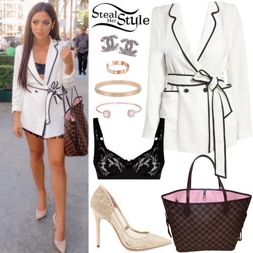 b2c641677a Gabriella DeMartino  White Jacket