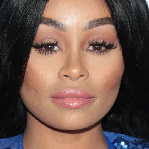 Blac chyna no makeup