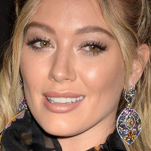 Hilary Duffs Makeup Photos Products Steal Her Style