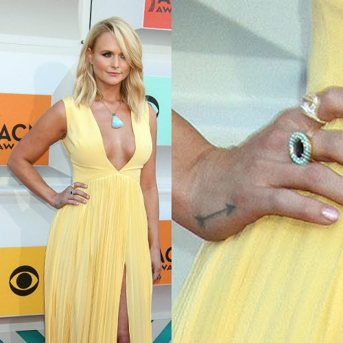 41 celebrity arrow tattoos steal her style for Miranda lambert tattoo on arm