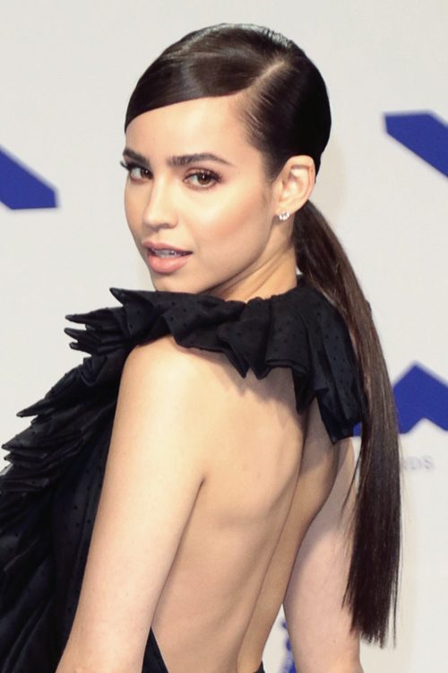Sofia Carson S Hairstyles Amp Hair Colors Steal Her Style