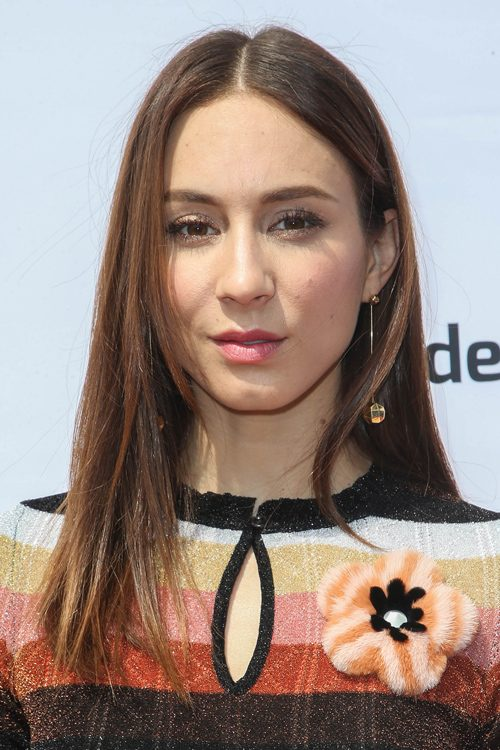 Troian Bellisario S Hairstyles Amp Hair Colors Steal Her Style