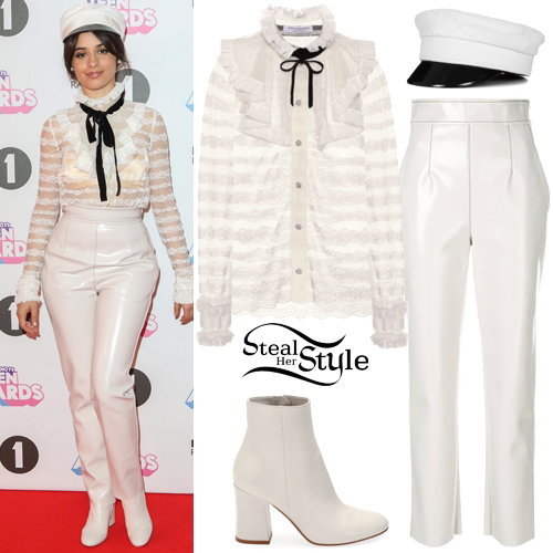 Camila Cabello: 2017 BBC Radio 1 Teen Awards Outfit ...