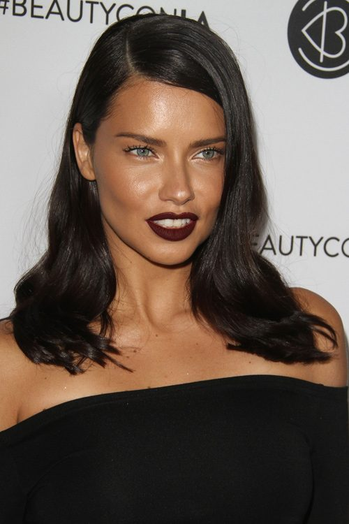 Adriana Lima's Hairstyles & Hair Colors | Steal Her Style