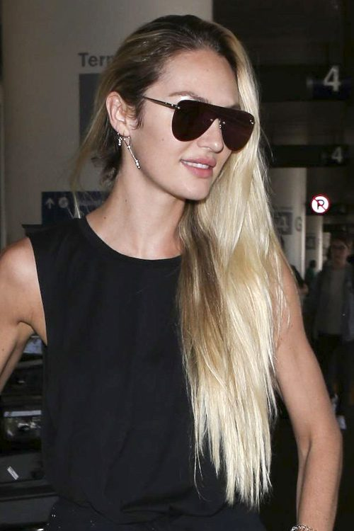 Candice Swanepoel S Hairstyles Amp Hair Colors Steal Her Style