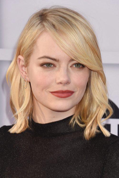 Think, Emma stone hair