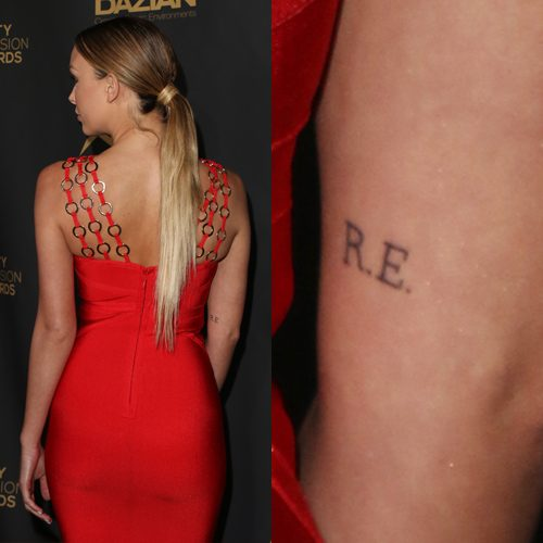 13 Initials Tattoo Photos Meanings Steal Her Style