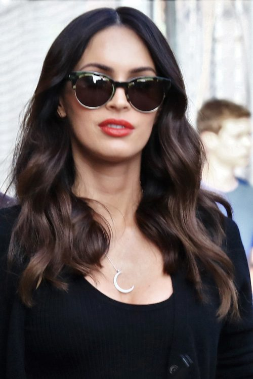 Megan Fox S Hairstyles Amp Hair Colors Steal Her Style