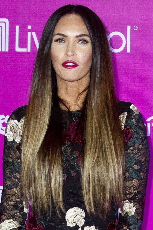 Megan fox hair question
