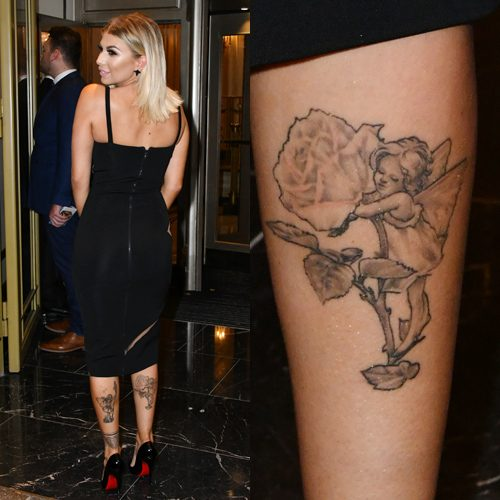 20 Celebrity Angel Tattoos Steal Her Style