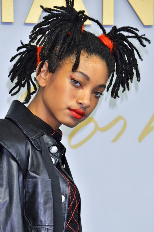 willow smith hair styles willow smith teased black dread locks hairstyle 2376