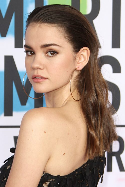 maia mitchell s hairstyles hair colors steal her style