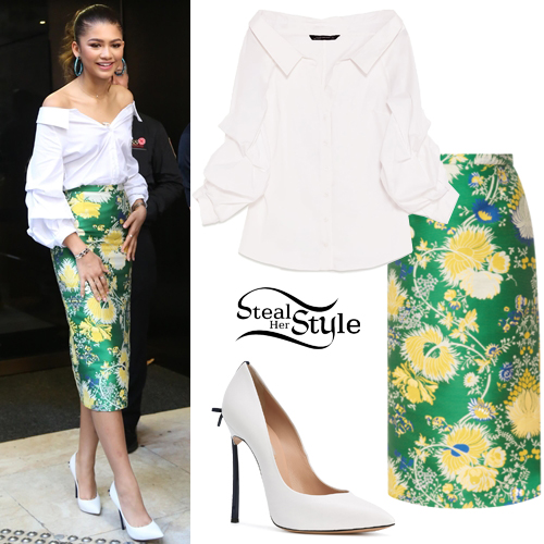 Zendaya Coleman 39 S Clothes Outfits Steal Her Style