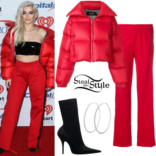Bebe Rexha 2017 Kiis Fm S Jingle Ball Outfit Steal Her