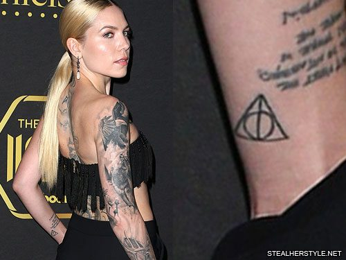 Skylar Grey S 16 Tattoos Amp Meanings Steal Her Style
