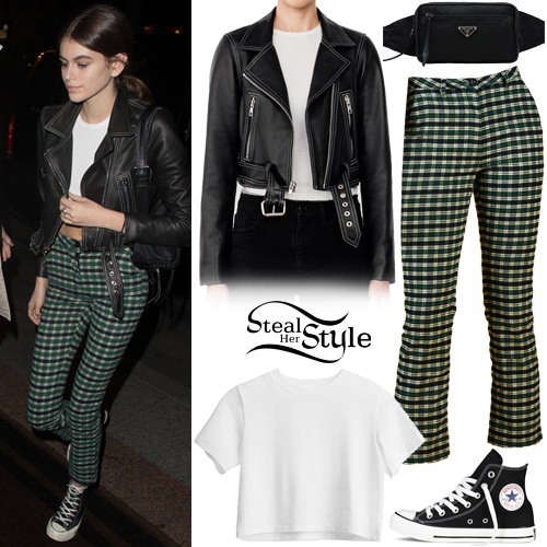 Kaia Gerber Clothes Amp Outfits Steal Her Style