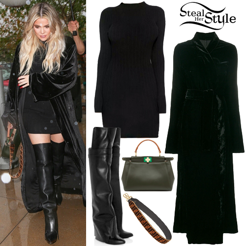 96b3787f Khloe Kardashian Clothes & Outfits | Steal Her Style
