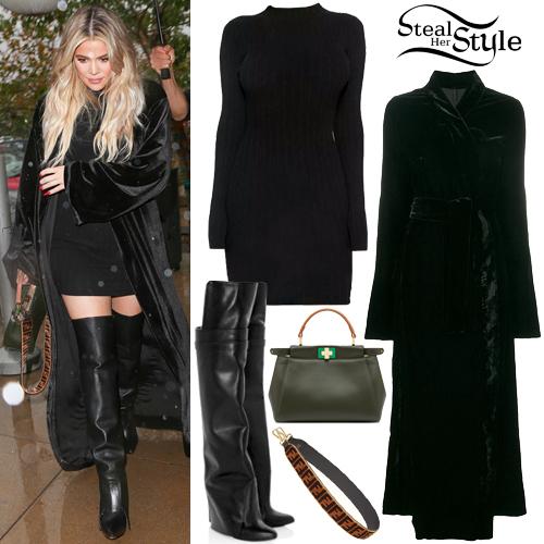 36b4b89045 Khloe Kardashian Clothes   Outfits