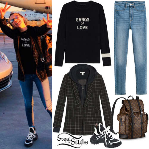 Millie Bobby Brown Clothes Amp Outfits Steal Her Style