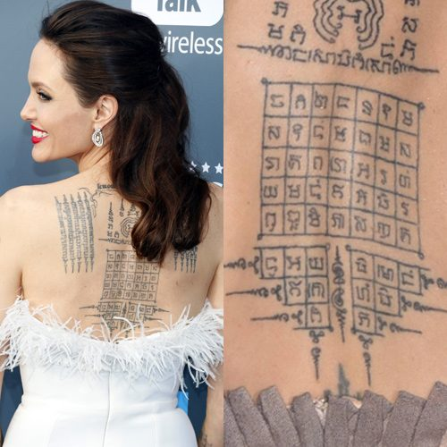 Celebrity Sak Yant Tattoos Steal Her Style