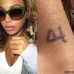 Beyoncé Tattoos