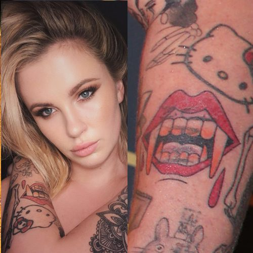 9 Vampire Tattoo Photos Meanings Steal Her Style There is no more need to explain the meaning of zombie or vampire tattoos. 9 vampire tattoo photos meanings
