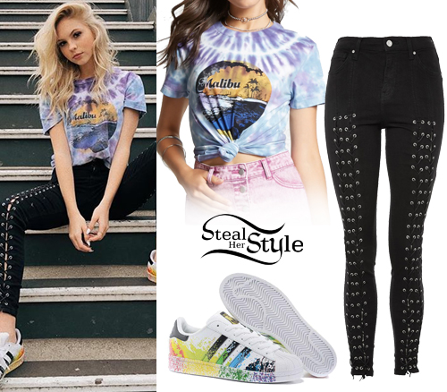 Jordyn Jones Clothes Amp Outfits Steal Her Style