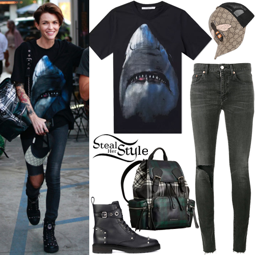 buy online 32689 74f42 Ruby Rose Outfits. Outfits · Hair · Makeup · Nails · Tattoos ...