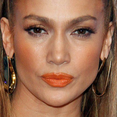 Jennifer Lopez Makeup Black Eyeshadow Brown Eyeshadow