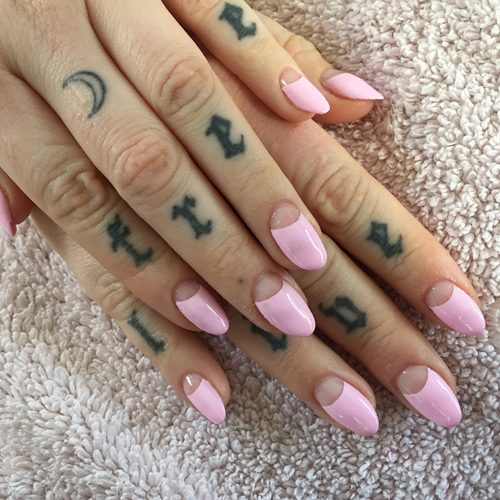 199 Celebrity Light Pink Nail Polish Photos   Steal Her Style