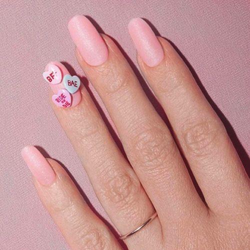 413 Celebrity Oval Shaped Nails
