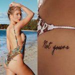 Lottie Moss Tattoos