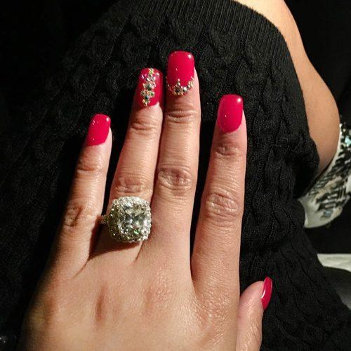 Nicki Minaj S Nail Polish Amp Nail Art Steal Her Style