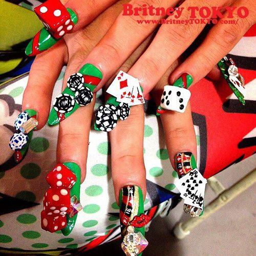 Nicki Minajs Nail Polish Nail Art Steal Her Style