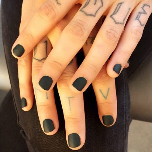 Ruby Rose\'s Nail Polish & Nail Art | Steal Her Style