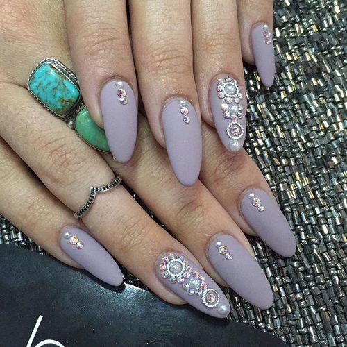 Gala Nail Bar: 413 Celebrity Oval Shaped Nails
