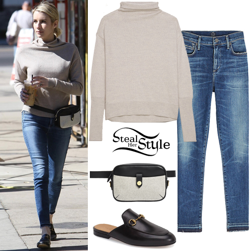 Emma Roberts Clothes & Outfits | Steal Her Style