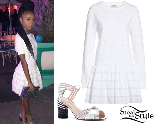 Skai Jackson Clothes Amp Outfits Steal Her Style