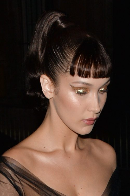 Bella Hadid S Hairstyles Amp Hair Colors Steal Her Style