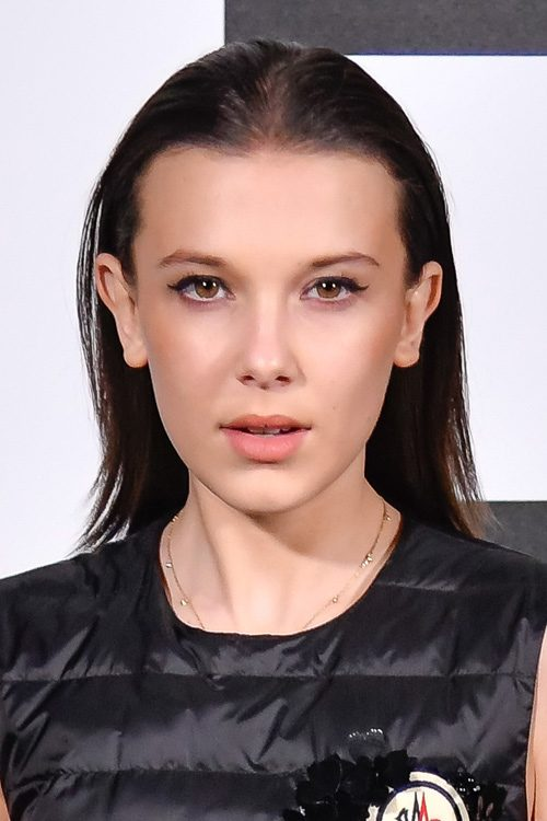 millie bobby brown 39 s hairstyles hair colors steal her. Black Bedroom Furniture Sets. Home Design Ideas