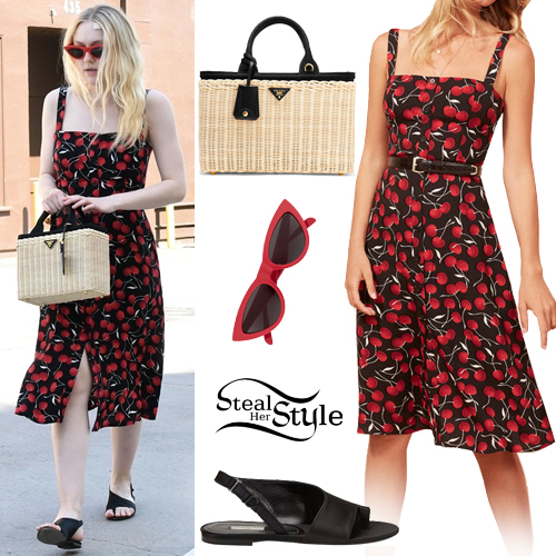 93ee121b631 Dakota Fanning Clothes & Outfits | Steal Her Style